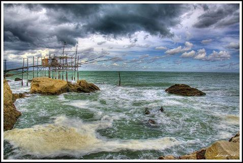 Trabocco in HDR