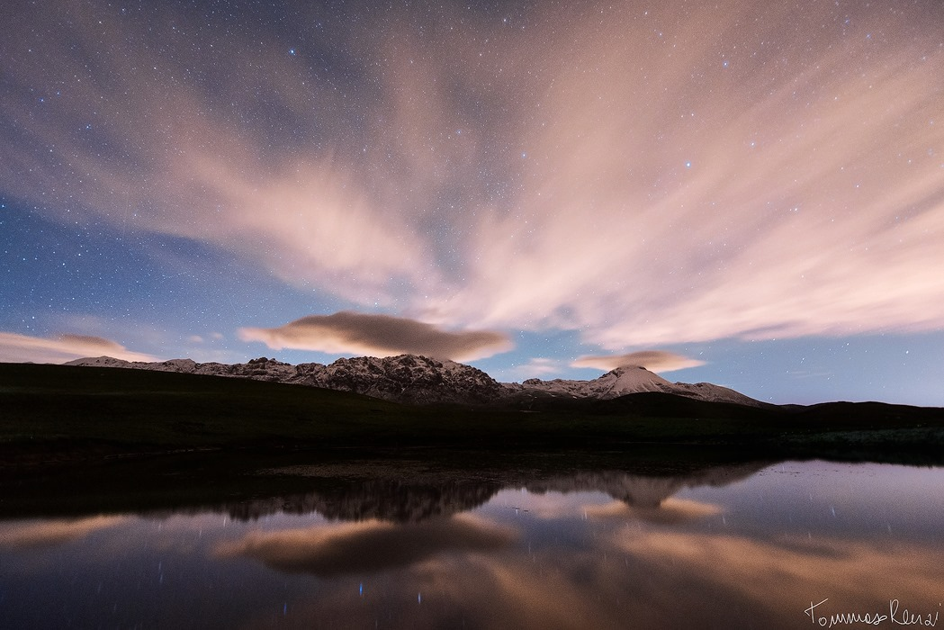 """Parallel Universe""  Lago Racollo , Campo Imperatore http://500px.com/photo/39528422 http://www.flickr.com/photos/tommyrave/9216123534/"